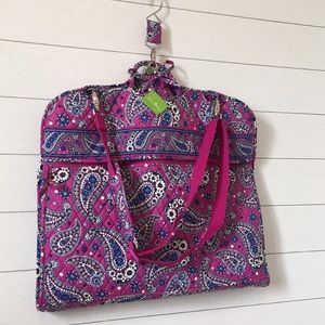 Vera Bradley Garment Travel Bag boysenberry